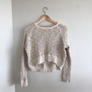 UO mesh crop sweater